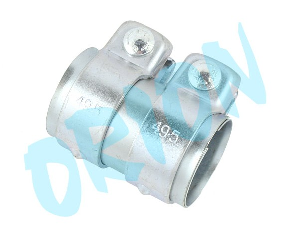 Pipe connector 45,5x49,5x80 mm - orion - Orion Exhaust Parts