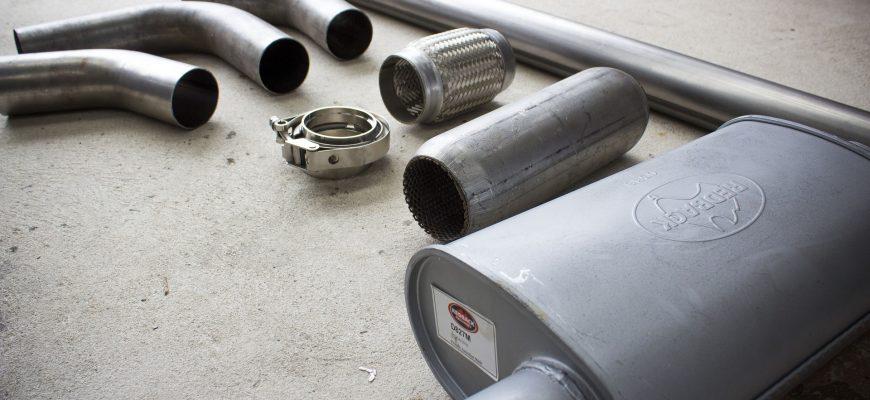 układ wydechowy - tłumik złącze elastyczne rura wydechowa łącznik rur pierścień exhaust system - muffler flexible connector exhaust pipe pipe connector ring